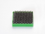 Duotec® with distance piece - 25x25x3,5mm - green