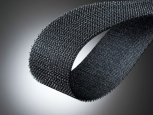 Klettostar® Hook tape - without adhesive - width 100mm - black - 25m